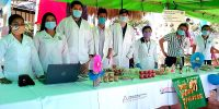 FAREM-Matagalpa presente en festival de hortalizas y las enramadas