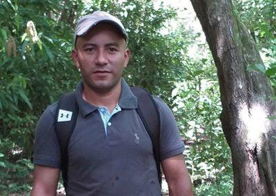 Eydin Lenin González Gómez, estudiante de la maestría en Educación Rural Centroamericana